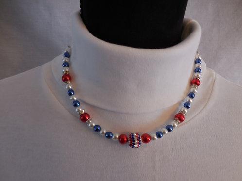 Patriotic Necklace  PN301