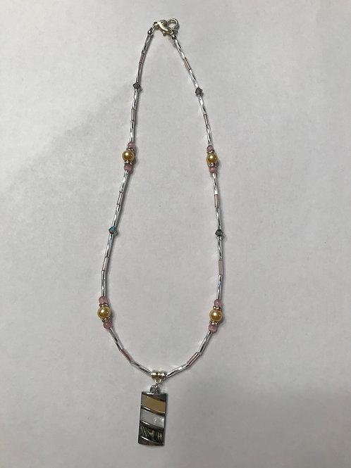 Abalone Pendant Necklace APN03