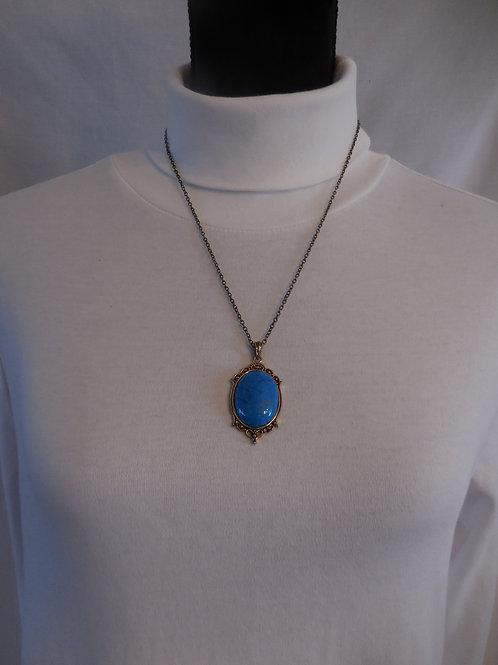 Handmade Pendant on chain   TP001
