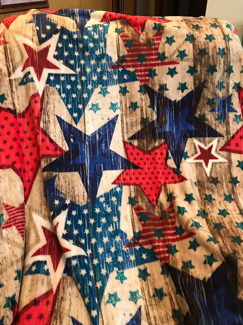 Patriotic Throw Blanket PTB02