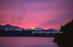 Active Pass Sunset