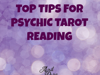 TOP TIPS FOR PSYCHIC TAROT READING