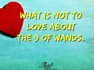 What is not to love about the 9 of Wands.