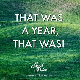 That was a year, that was!