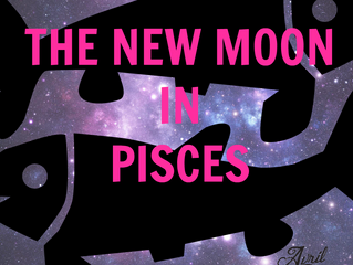THE NEW MOON IN PISCES