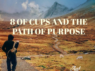 8 of Cups and the Path of Purpose