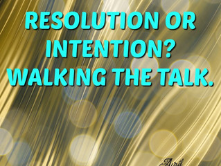 Resolution or Intention?