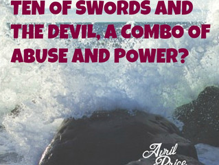 Ten of Swords and the Devil, a combo of abuse and power?
