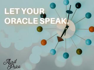Let Your Oracle Speak.