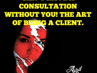 Can't have a consultation without you!