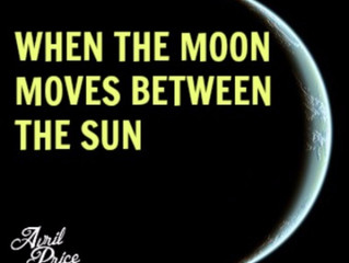 When the Moon Moves Between the Sun