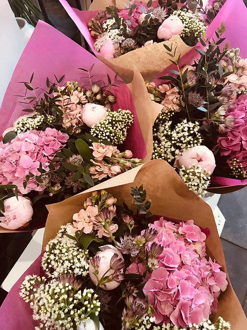 Bouquet de fleurs de saison