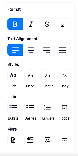 It allows you to structure and link notes using pages and beautiful text styles.