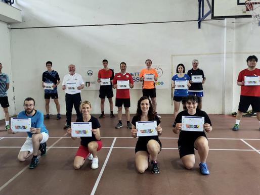 Continua la formazione degli allenatori del Genova Badminton