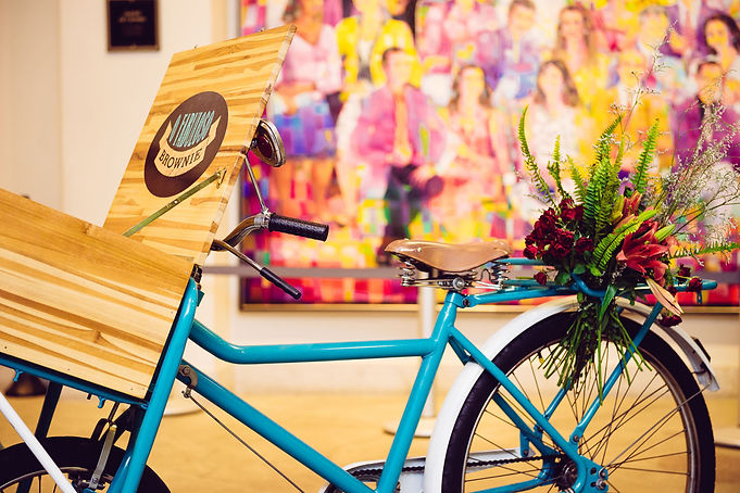 Bike para decoração eventos