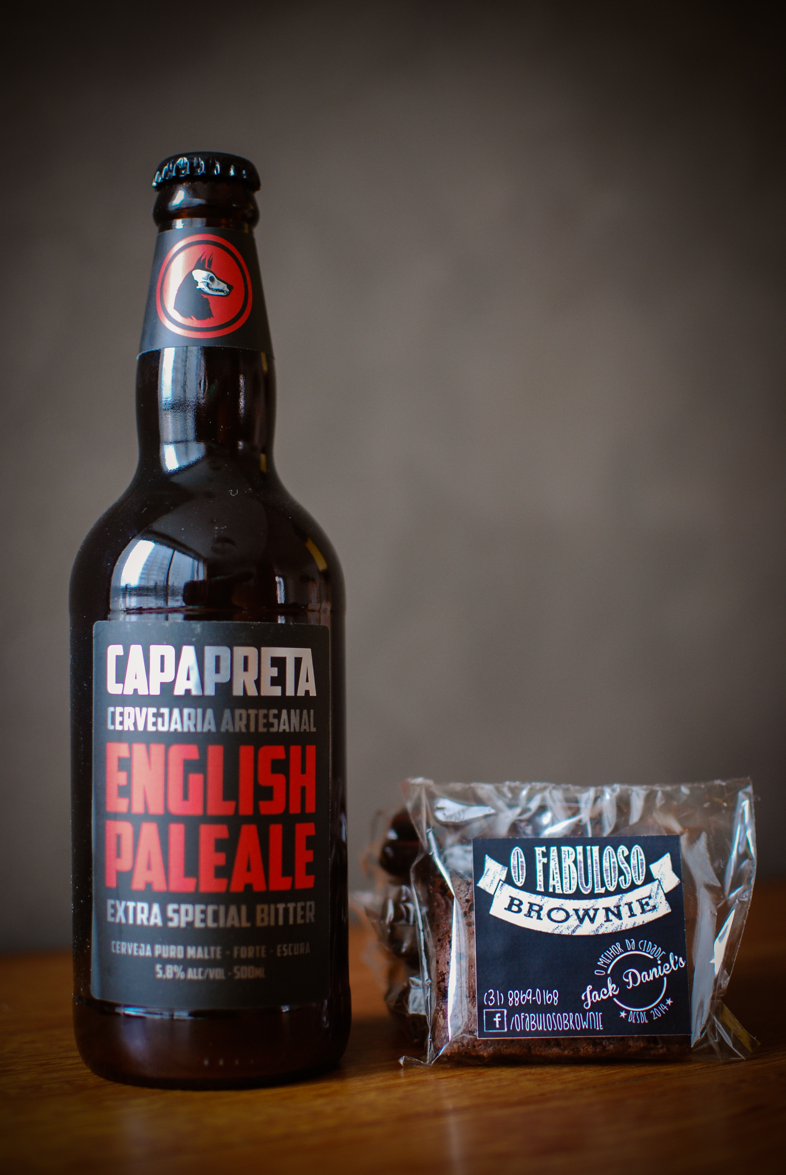Kit brownies e cerveja - Natal 2014