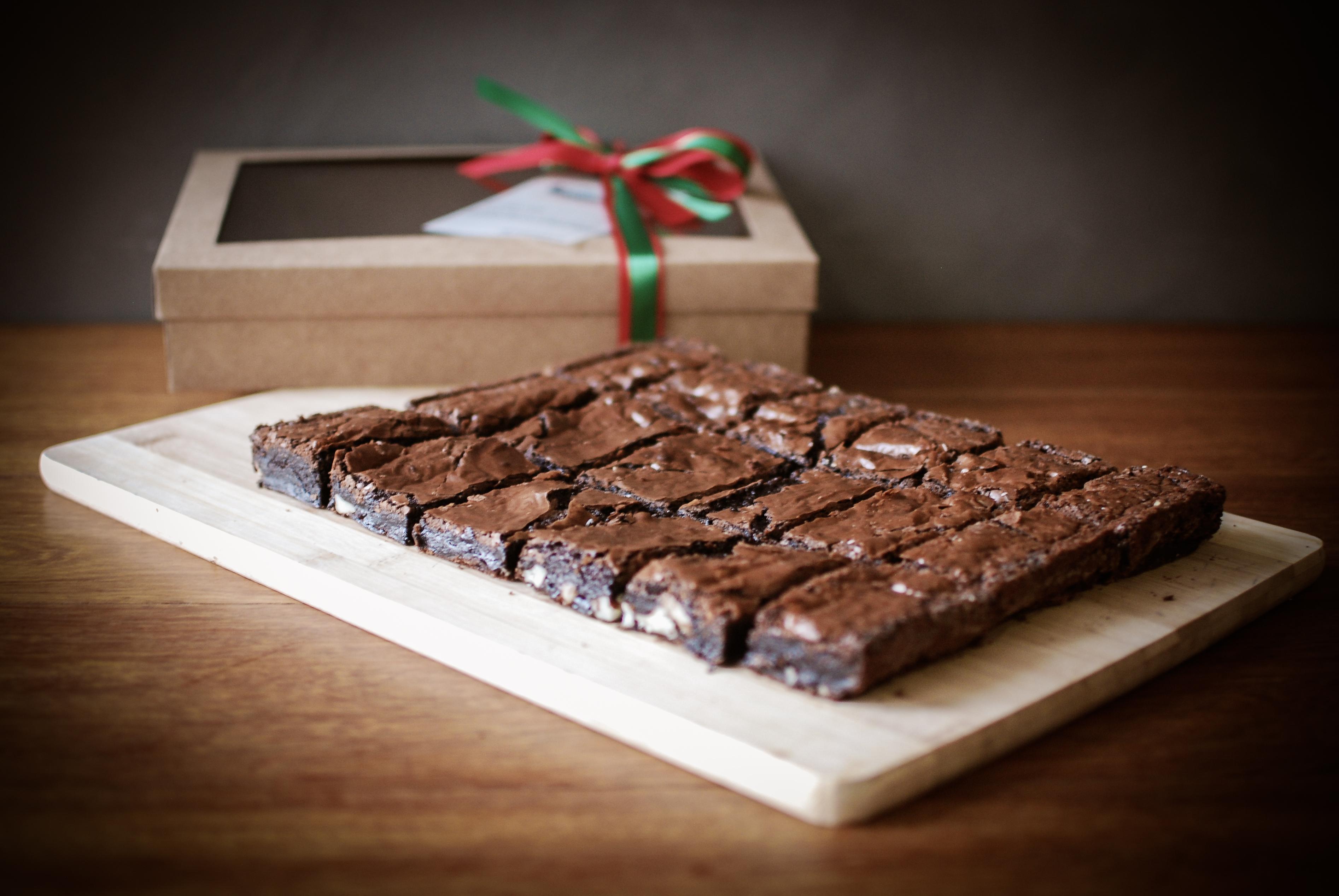 Caixa brownies - Natal 2014