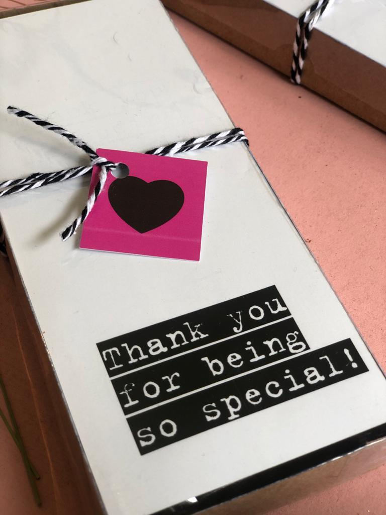 Thank you for being so special!