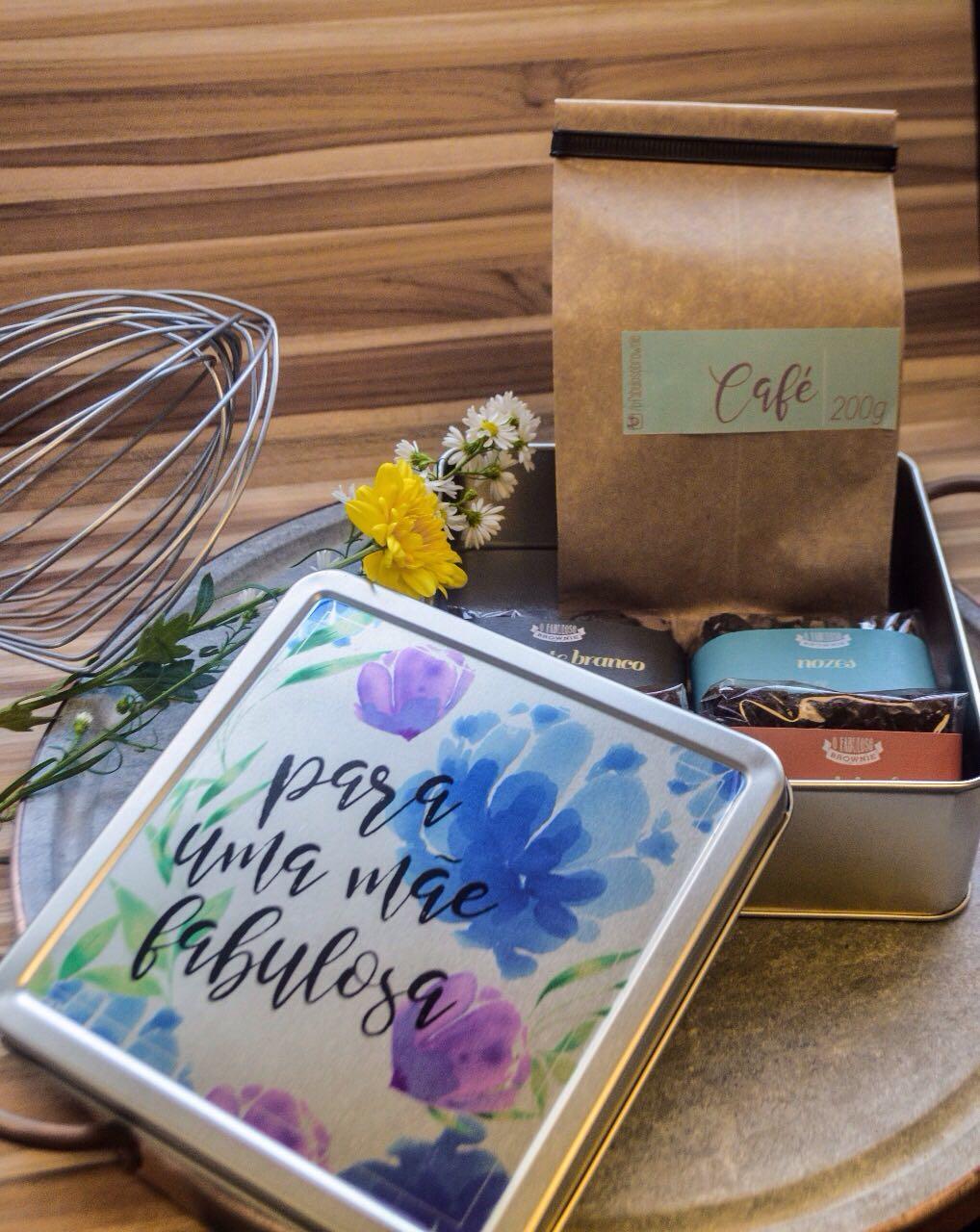Dia das Mães 2017 - brownies e café