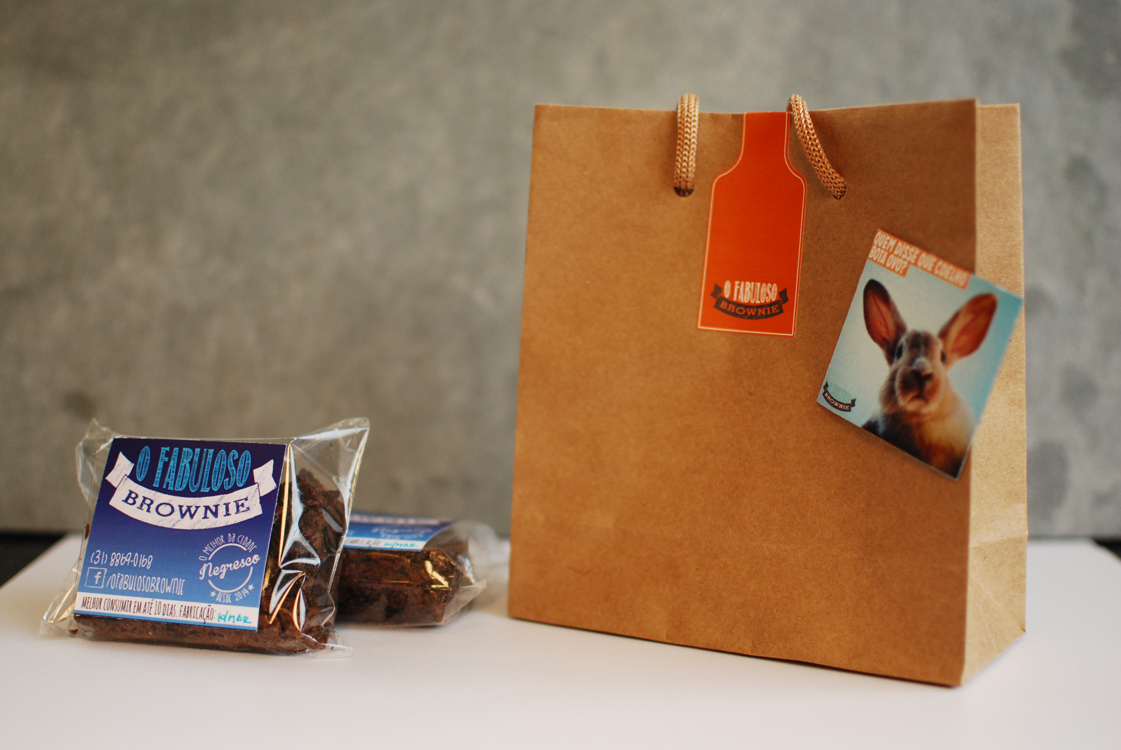 Kit 2 brownies - Páscoa 2015
