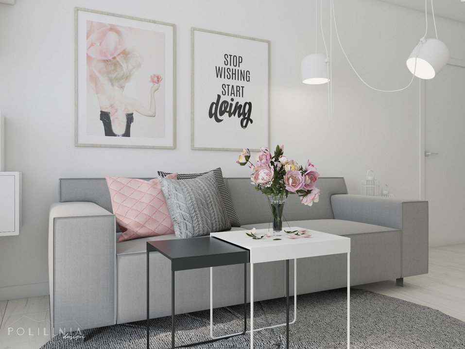 Salon - mieszkanie Gdańsk