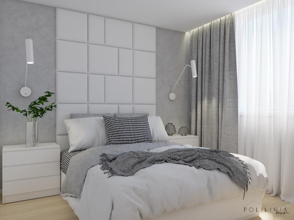 Sypialnia - mieszkanie Ruda Śląska #4