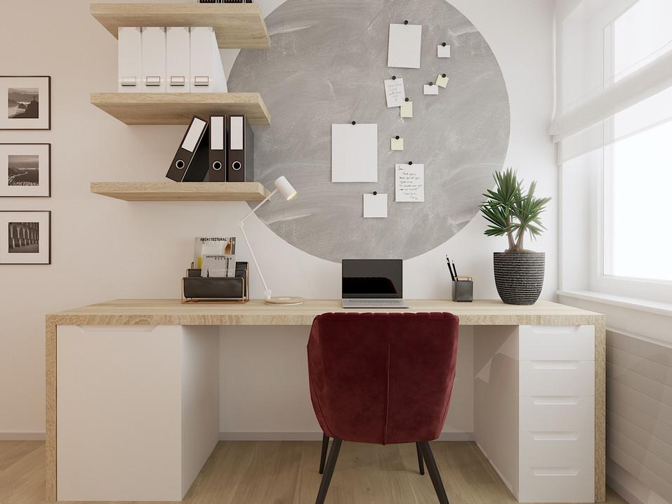 Gabinet - mieszkanie Katowice #3
