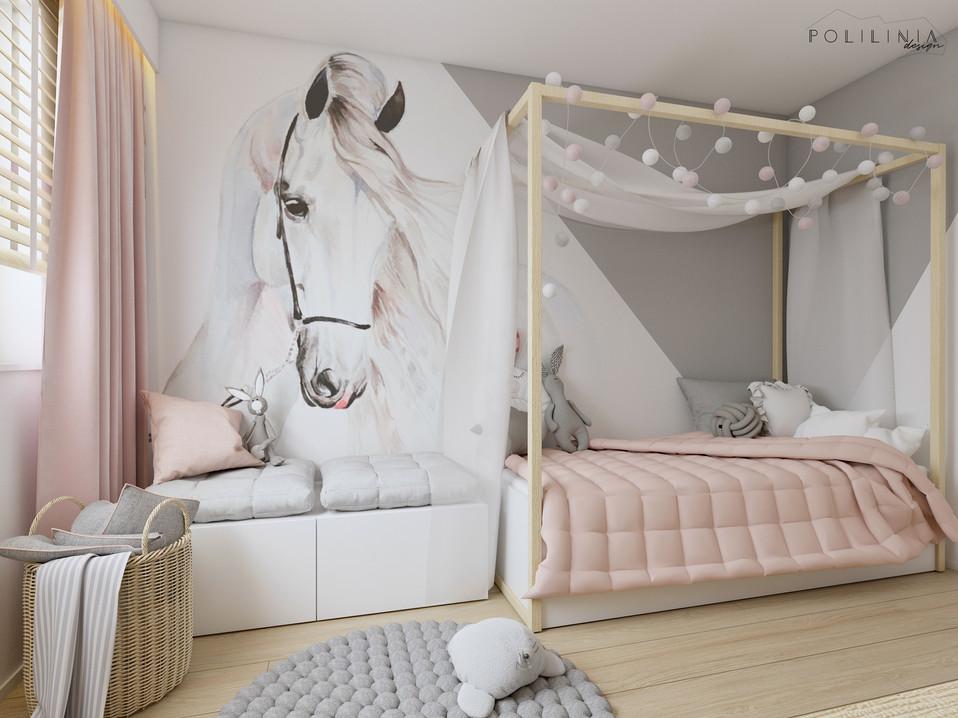 Pokój dziewczynki - dom Piekary Śląskie