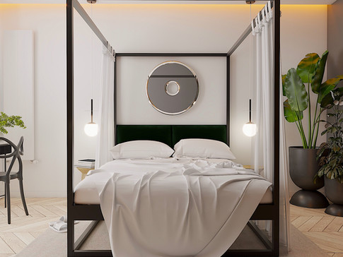 Sypialnia master
