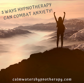 3 Ways Hypnotherapy can combat anxiety