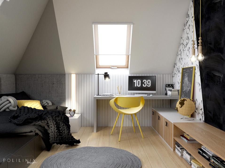 Pokój nastolatka - dom Andrychów