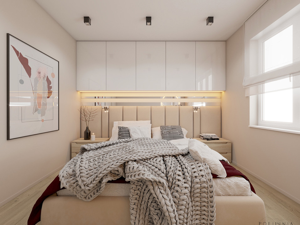 Sypialnia - mieszkanie Katowice #3