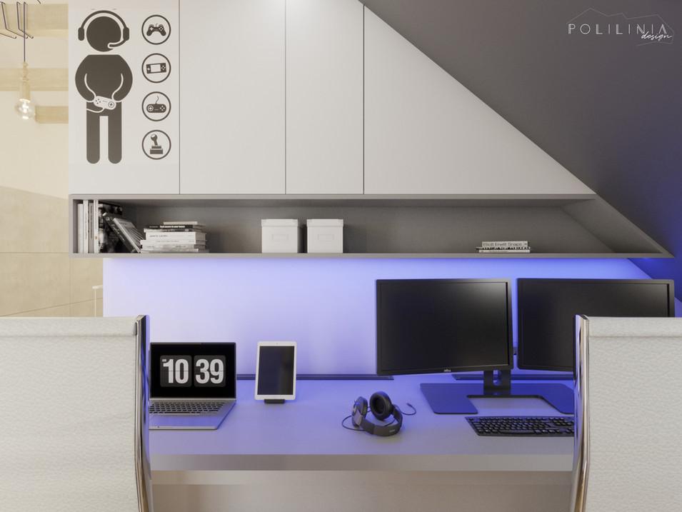 Otwarte biuro / pokój gier