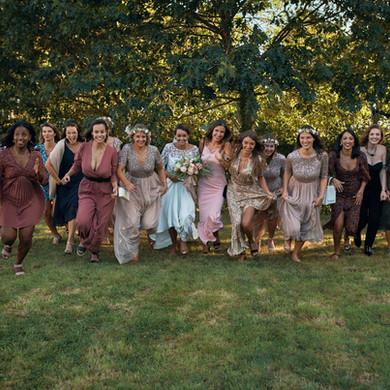 Photos de groupe fun mariage