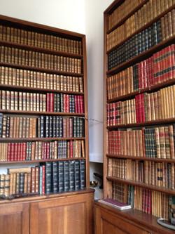 Bibliothèque Orangerie du château