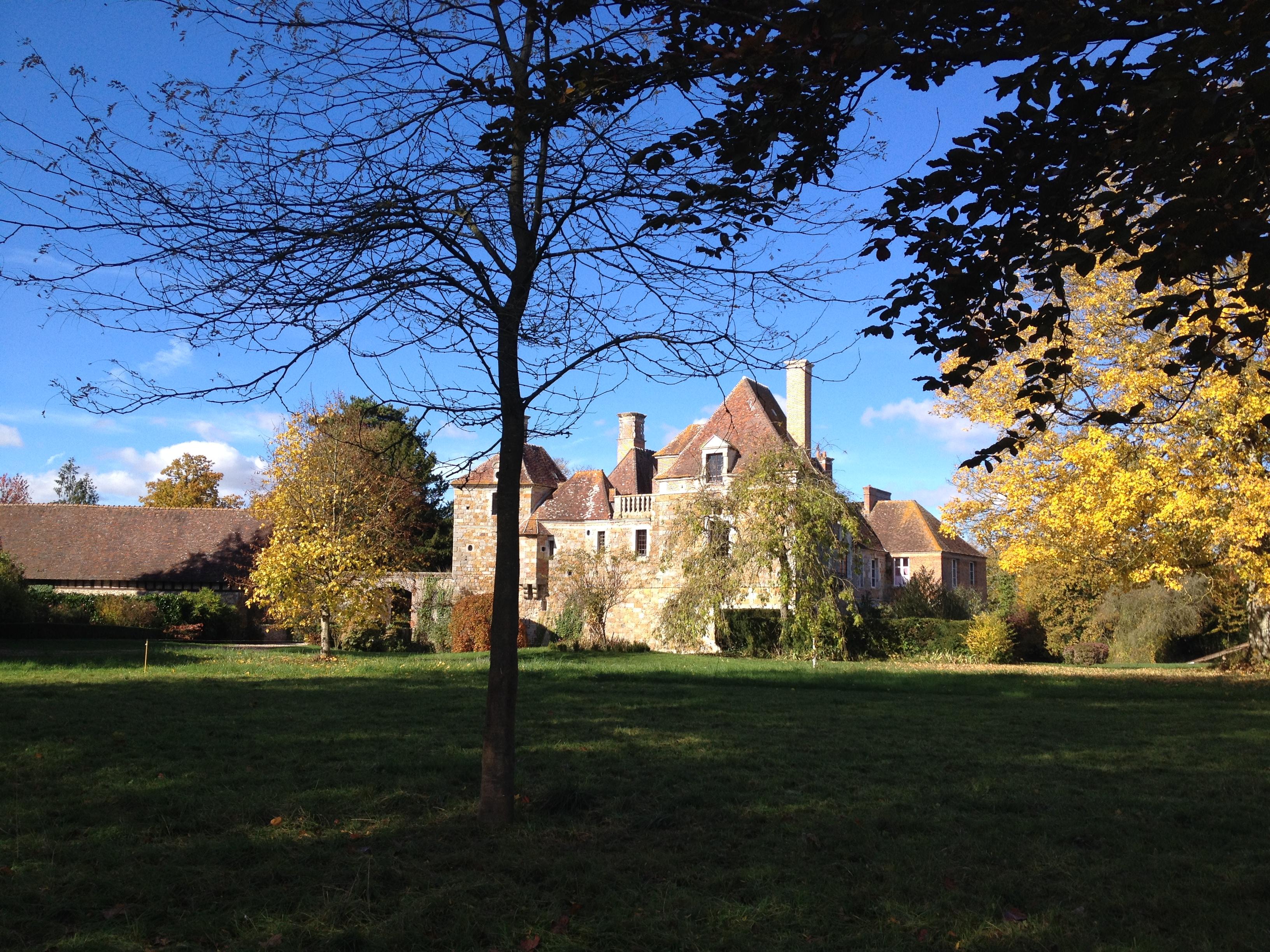 Parc château Blanc buisson