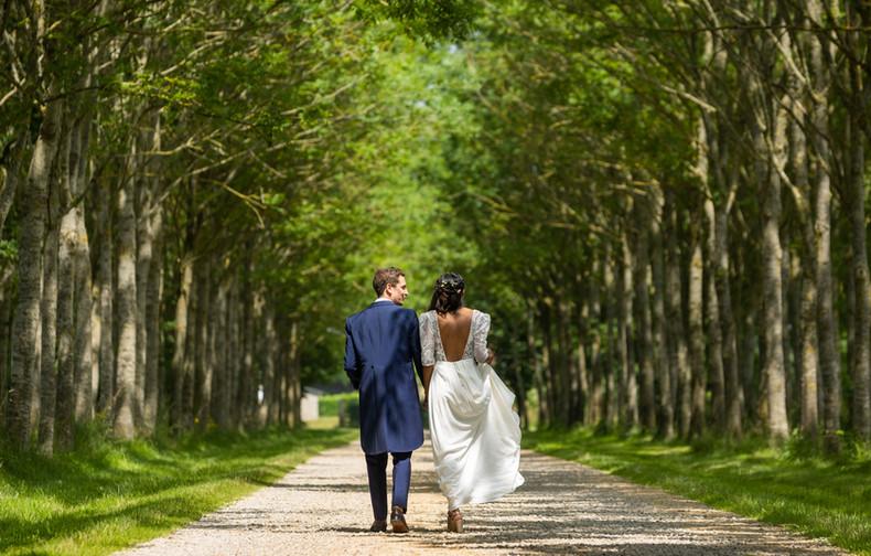 allée des mariés