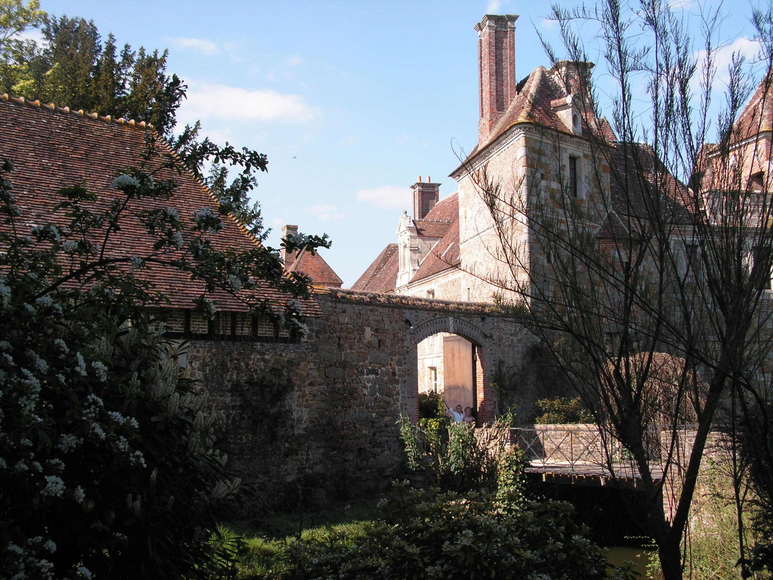 Vue sur château
