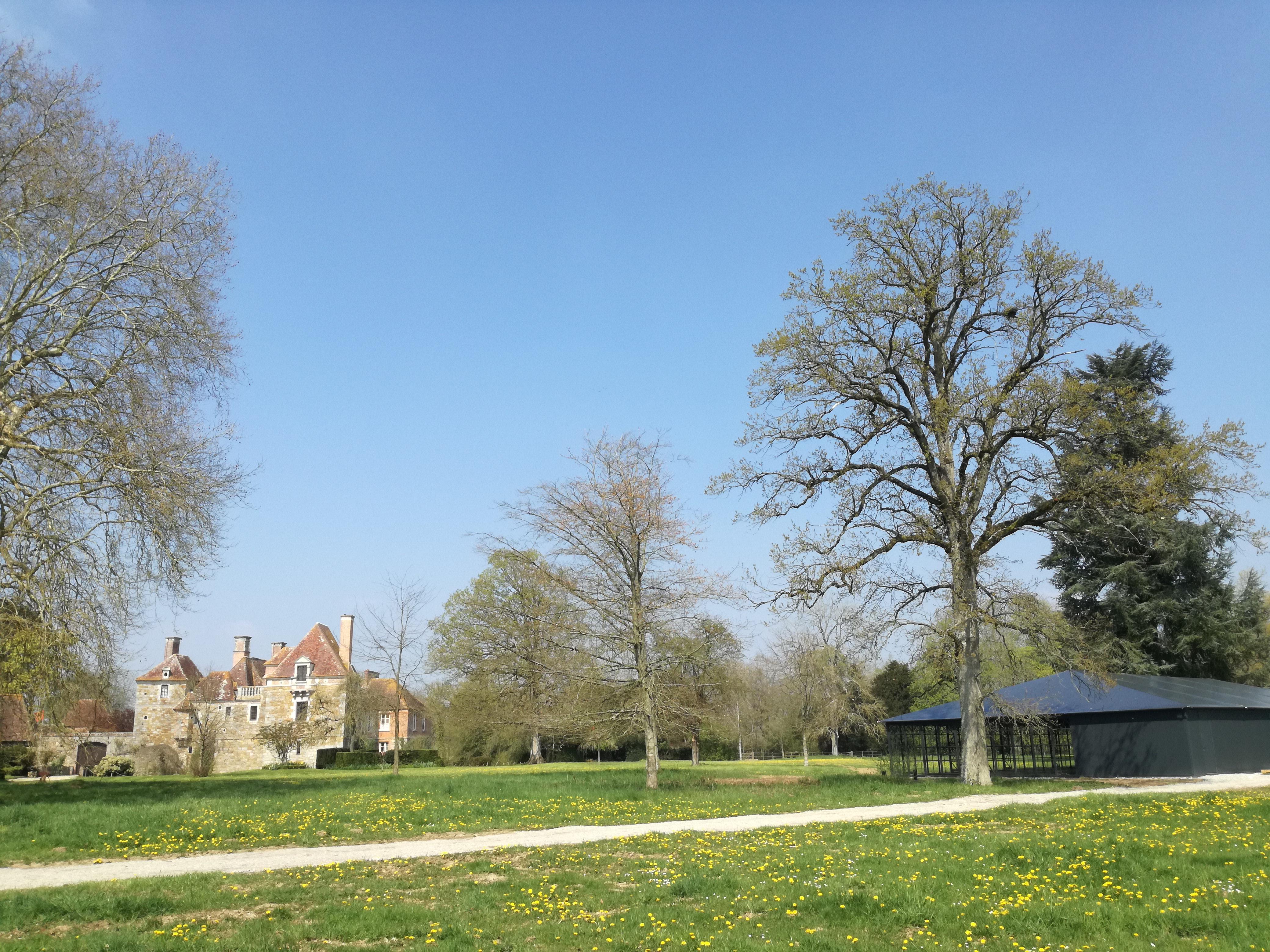 Parc château du Blanc Buisson
