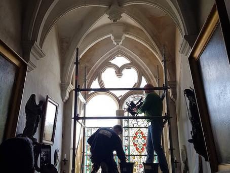 DE RETOUR SUR FRANCE3 : La restauration du vitrail en images
