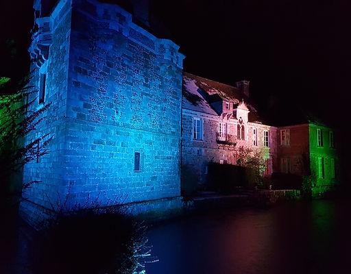 Château du Blanc Buisson illumination en