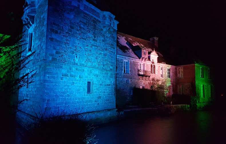 Château du Blanc Buisson illumination