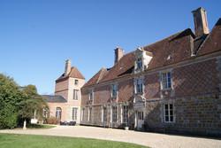 Cour intérieure Château du Blanc Buisson