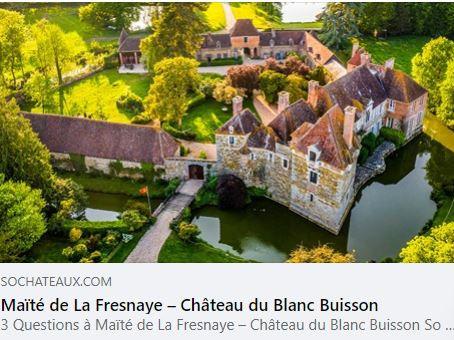 HOT NEWS : Nous rejoignons So Châteaux !