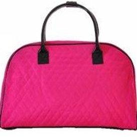 Pink Traveling Duffle Bag