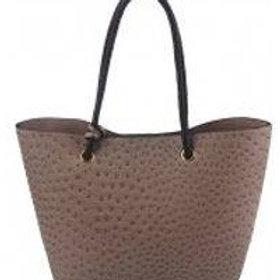 Share  Ostrich Shoulder Bag (2 Color Choices)