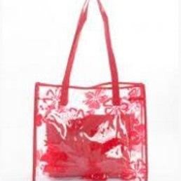 Share  Red Tranparent Shoulder Bag