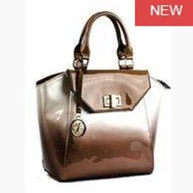 Taupe Two Tone Bag