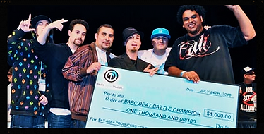 Gunjan Patel, 2nd Annual Bay Area Producer's Conference Beat Battle Champion July 24, 2010.