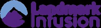 Landmark Infusion Logo (9 in wide) w bor